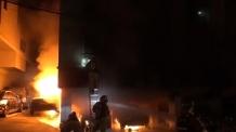서울 방배동 빌라 주차장 화재…차량 6대 전소