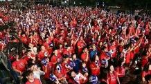 대규모 월드컵 거리 응원에…강남 영동대로 일부 구간 통제