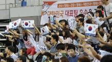 한국 대표팀, 유럽 강호 스웨덴 '완파'