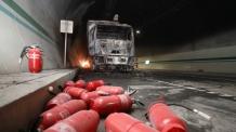 울산∼포항고속도 터널 화재 신속 대처…대형사고 면했다