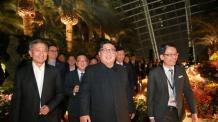 싱가포르 슈퍼트리 감탄한 김정은, 평양 야경에도 관심