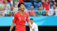 """손흥민 """"너무 죄송스러워 눈물…아직도 월드컵이 무섭다"""""""