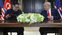 """트럼프 """"김정은 신뢰한다…즉각 비핵화를 시작한다고 밝혀"""""""