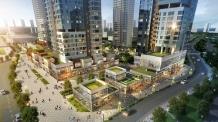 세종시 도시상징광장 바로 앞 위치한 한화건설 컨소시엄 '세종 리더스포레 상업시설'