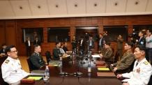 남북, 대령급 군사실무접촉 9시58분 시작…군 통신선 복구 논의