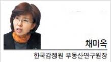 [헤럴드포럼-채미옥 한국감정원 부동산연구원장] 상업용 부동산시장의 투명성을 위하여