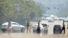 [연일 찜통더위]열섬된 한반도, 창문도 못 연다…'폭염ㆍ오존ㆍ미세먼지' 삼중고