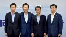 박남춘 인천시장, 한병도 청와대 정무수석과 지역 현안 논의