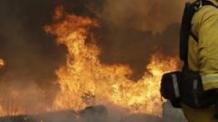 전주 산불, 용복동 야산에서 불길 활활…등산객 유의