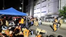 인천남동공단 세일전자 화재 밤새 수색작업 이어가