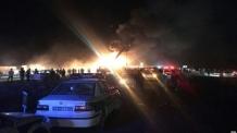 이란 고속도로서 유조차가 버스 추돌 뒤 폭발…21명 사망