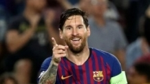 메시, UEFA 챔스리그 통산 8번째 해트트릭