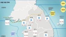 [날씨&라이프] 남부ㆍ중부 한때 비…서울 낮 최고 '23도'