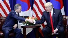 한미 정상, 北비핵화 단계에 따른 종전선언ㆍ제재 완화 논의