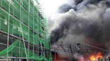 시흥 플라스틱 공장서 화재..중국인 1명 사망