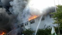시화공단 화재, 사망한 중국인 방화 추정