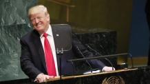 트럼프, 유엔총회서도 자화자찬…각국 정상·외교관 '폭소'
