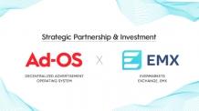 블록체인 프로젝트 '애드오에스', EMX와 전략적 파트너십 체결