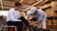 배우 손호준, 성수수제화 신기 릴레이캠페인 네번째 주자로 참여