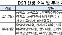 DSR 산정 증빙소득 100% 인정, 가계대출 중 334조 고DSR 초과