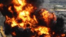 러시아 불꽃놀이 기구 공장서 폭발…2개동 '와르르'