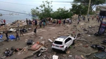 동원산업, 인도네시아 재난 복구에 5억 루피아 성금 지원