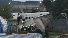 '안타까운 참극' 대만 열차사고, 승객들 대부분 나들이行
