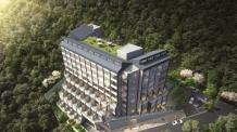 계룡산 맨 앞자리 특급입지에 들어서는 세계적 호텔 브랜드