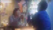 """((직접배포))이수역 폭행 사건 영상 공개...여성들 """"너희 X, OO지"""" 남성신체 조롱"""