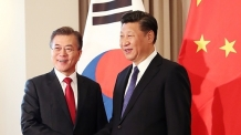 文-시진핑, 정상회담 돌입…北 비핵화 위한 적극적 역할 당부할 듯