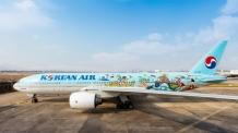 '내가 그린 예쁜 비행기'…대한항공, 역대 1등 수상작 래핑 항공기 운영