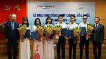 포니정재단, 베트남 장학증서 수여…12년 간 총 680명