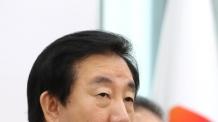 """임기하루 앞둔 김성태 """"대화 타협 중시하지만, 야당은 잘 싸워야"""""""