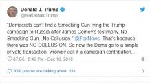 트럼프 '코프피피' 이어 '주름장식 총'…의문의 단어로 인터넷 들썩