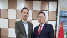 권기식 한ㆍ중도시우호협회장, 중국 녹지그룹 방문… 한ㆍ중 경제교류 논의
