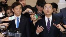 홍남기-이주열 첫만남…정책공조 이뤄지나