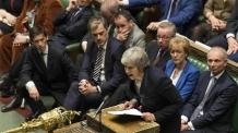 Britain Brexit <YONHAP NO-1816> (AP)