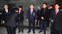 """'全大 룰' 최종 의결 참석한 오세훈 """"'親오'라는 말은 안 나와 다행"""""""