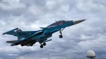 러시아 'Su-34' 전폭기 2대 충돌…조종사 3명 실종