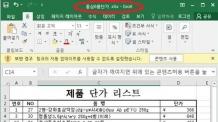 파일명 '홍삼6품단가.xlsx' 요주의…北 설 선물 위장한 악성파일