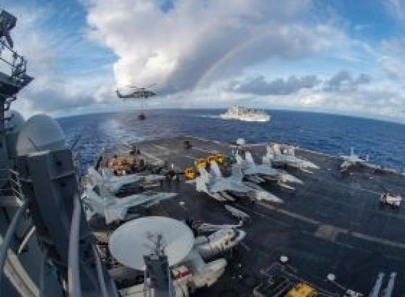 한반도 전쟁위기 고조?…美, 막강 3함대 전진배치