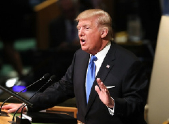 """트럼프 """"미국 위협받으면 北 완전파괴…美 우선"""""""