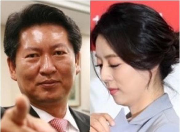 """정청래 """"배현진 큰일났다, 당선무효형 해당"""""""
