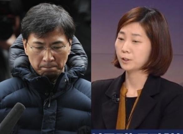 """안희정, 김지은에 """"어허, 문자 안 보네""""…내용 보니"""