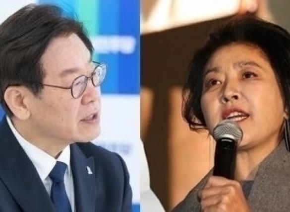 """이재명과 증거 넘친다던 김부선…檢 """"사진 한 장 無"""""""