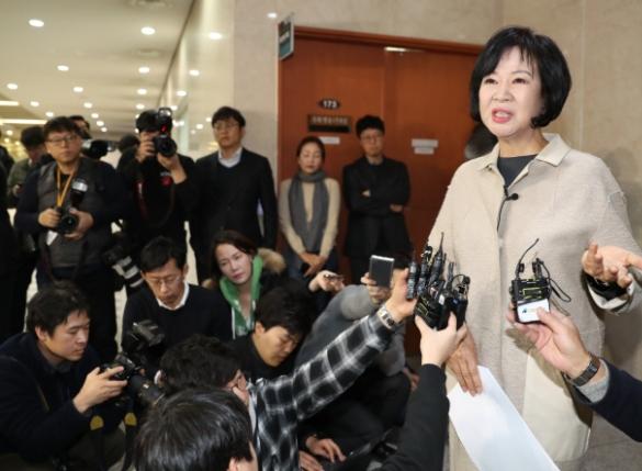 """'탈당' 손혜원…""""박지원 아파트 의혹도 수사해야"""" 배수진"""