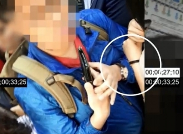 """""""지하철 성추행범 구속 동생 억울합니다""""…철도특별사법경찰, 표적 촬영 논란"""