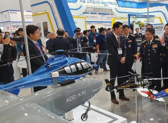 KAI '수리온' 경찰헬기 마케팅 박차