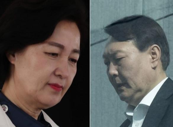 """秋 """"최강욱 '날치기' 기소, 감찰 검토""""…대검 """"적법"""" 반박"""