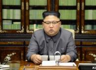 """김정은 """"트럼프, 불망나니""""…태평양 수소탄시험 시사"""